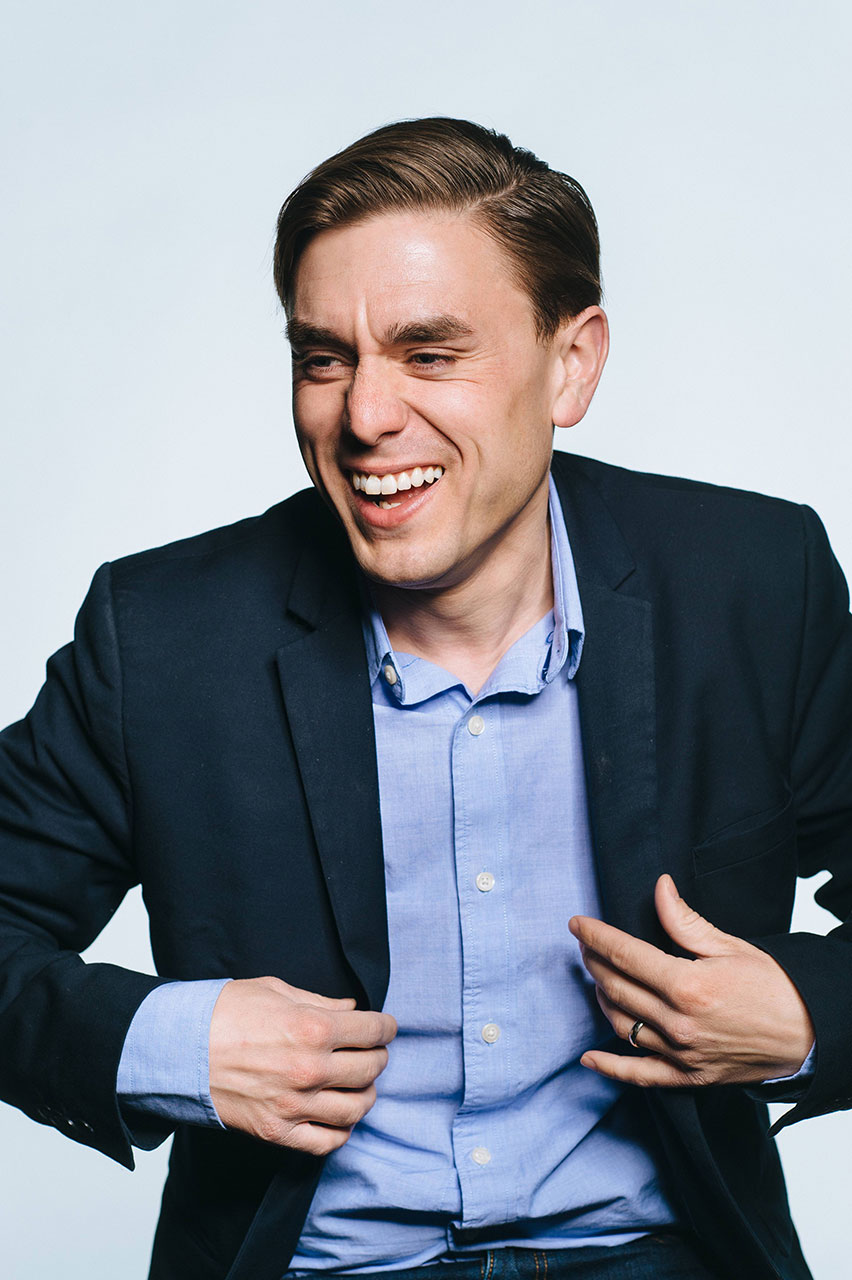 Comedian James Mullinger Gives the Gift of Comedy