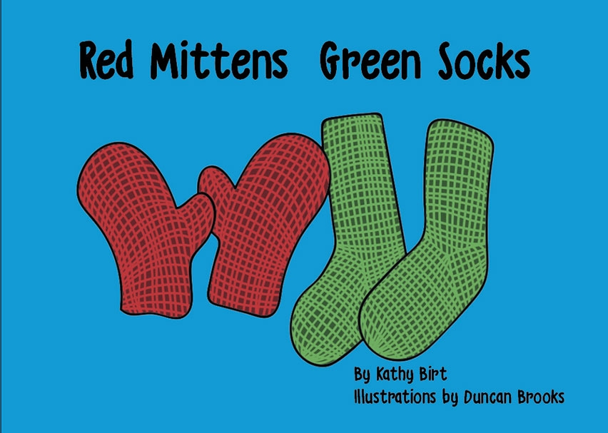 Red Mittens Green Socks