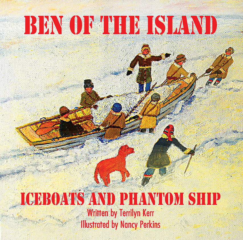 Book release: Ben of the Island: Iceboats and Phantom Ship
