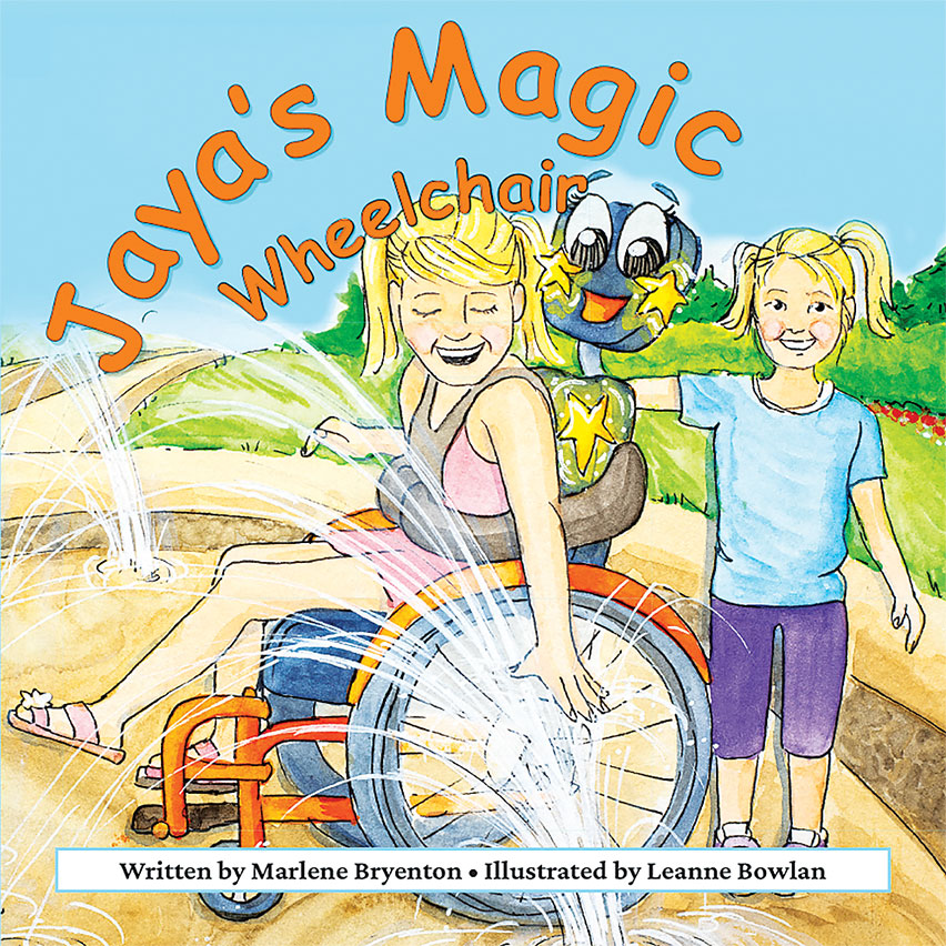 Book release: Jaya's Magic Wheelchair
