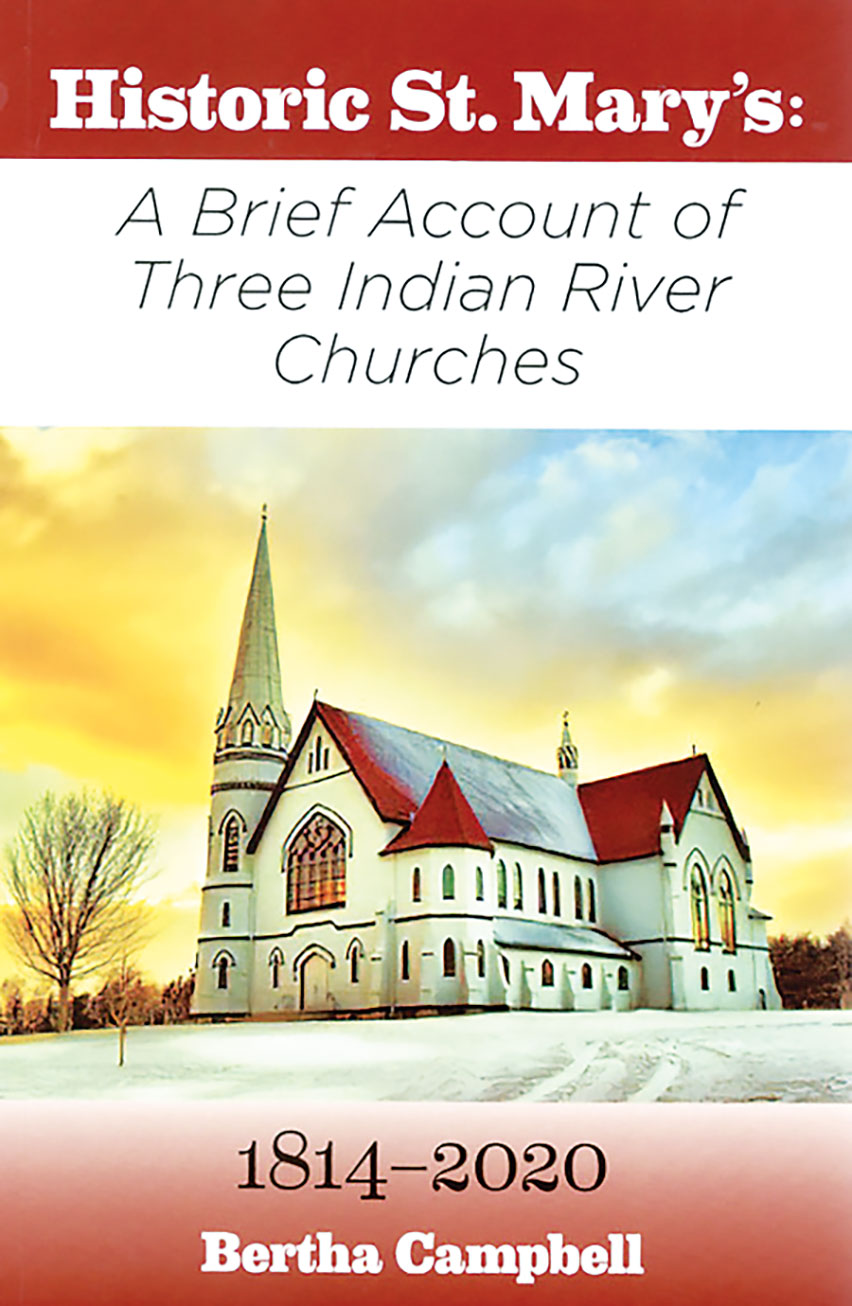 Book release: Historic St. Mary's:  A Brief Account of Three Indian River Churches 1814–2020