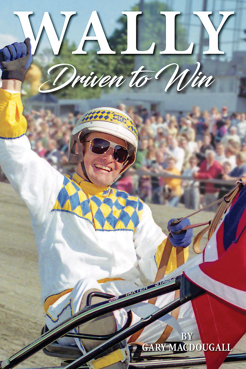 Book release: Wally: Driven to Win