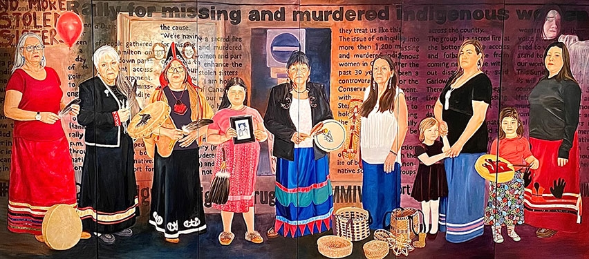 New mural honouring missing and murdered Indigenous women and girls